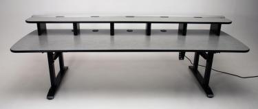CF115 Ergo Rail sit to stand height adjustable desk