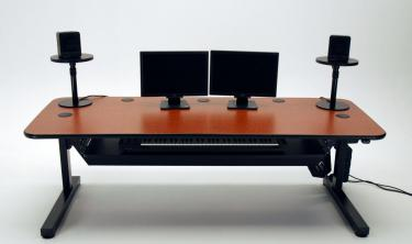 Ergo Music height adjustable audio production desk