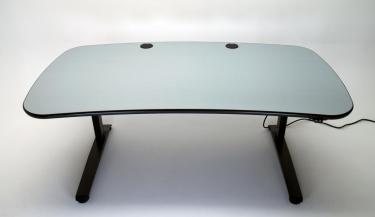Ergo Terrace height adjustable desk for multiple monitors