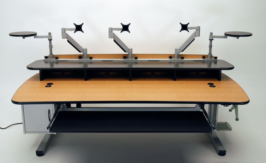 Height Adjustable Music Production Desk Martin Amp Ziegler