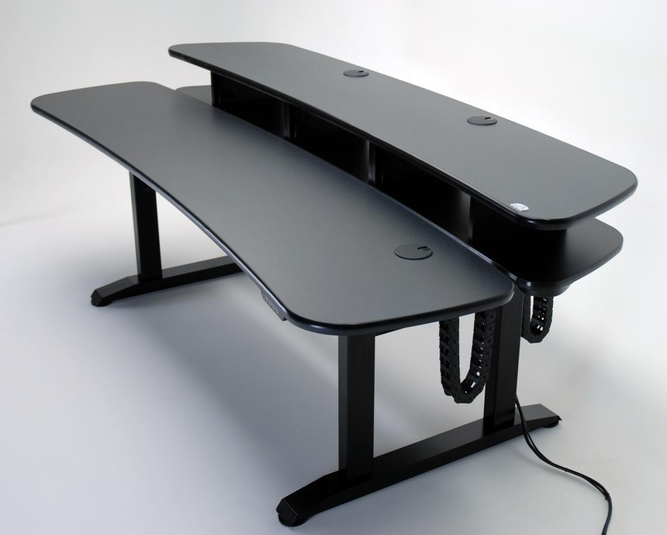 Ergo Duet Dual Surface Height Adjustable Desk With