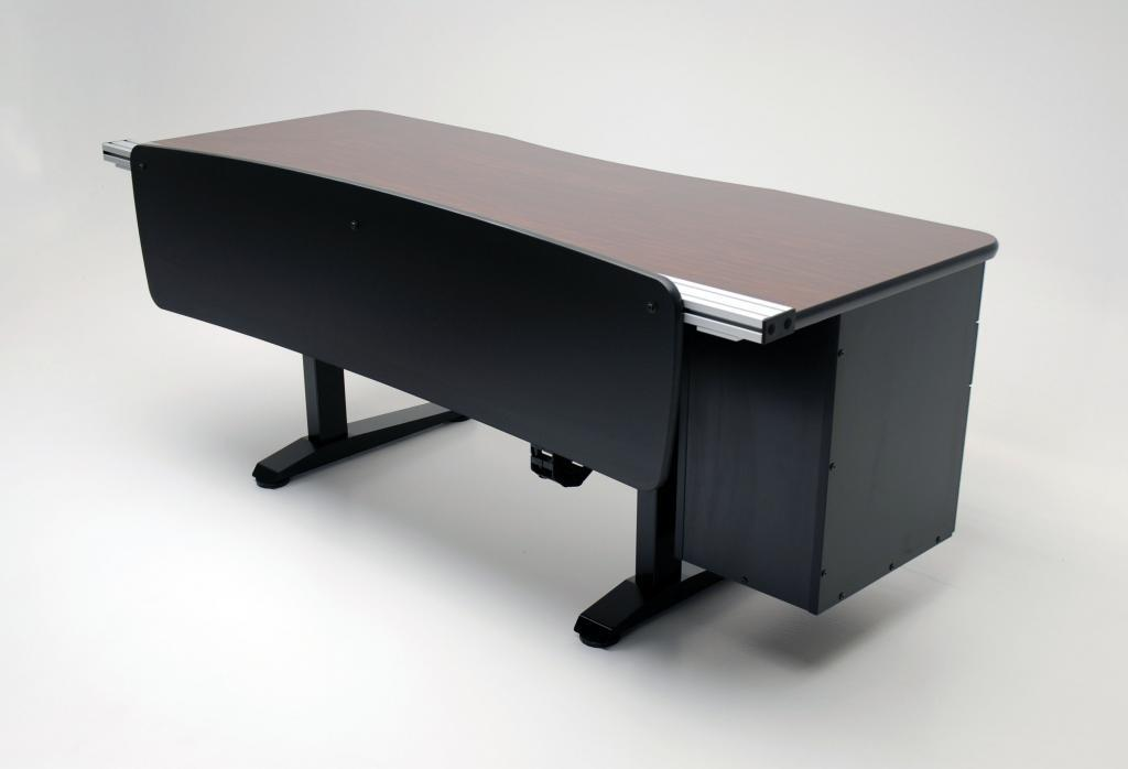 ... Ergo Office Height Adjustable Desk Back View ...