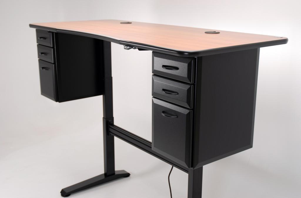 ergo office 72 adjustable height desk martin ziegler. Black Bedroom Furniture Sets. Home Design Ideas