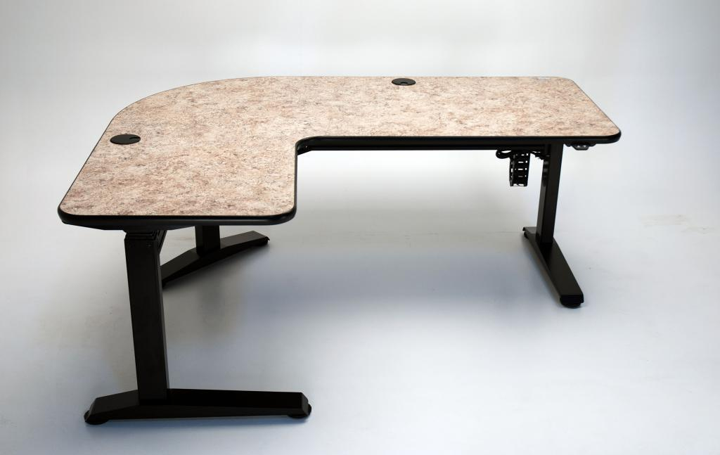 Picture of: Ergo L Height Adjustable L Shaped Desk Martin Ziegler