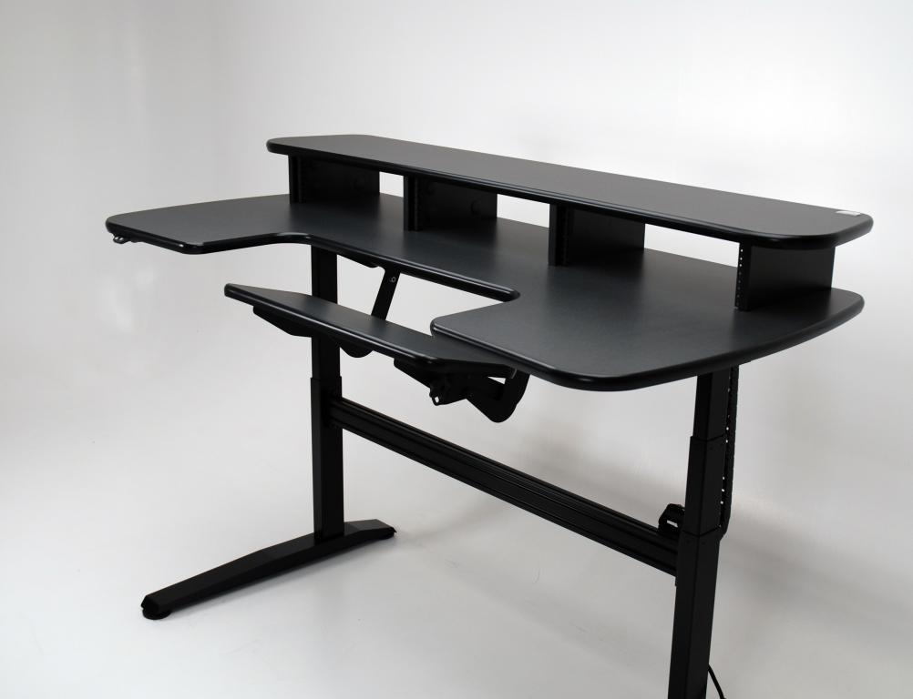 ... Standing Desk With Adjustable Keyboard ...