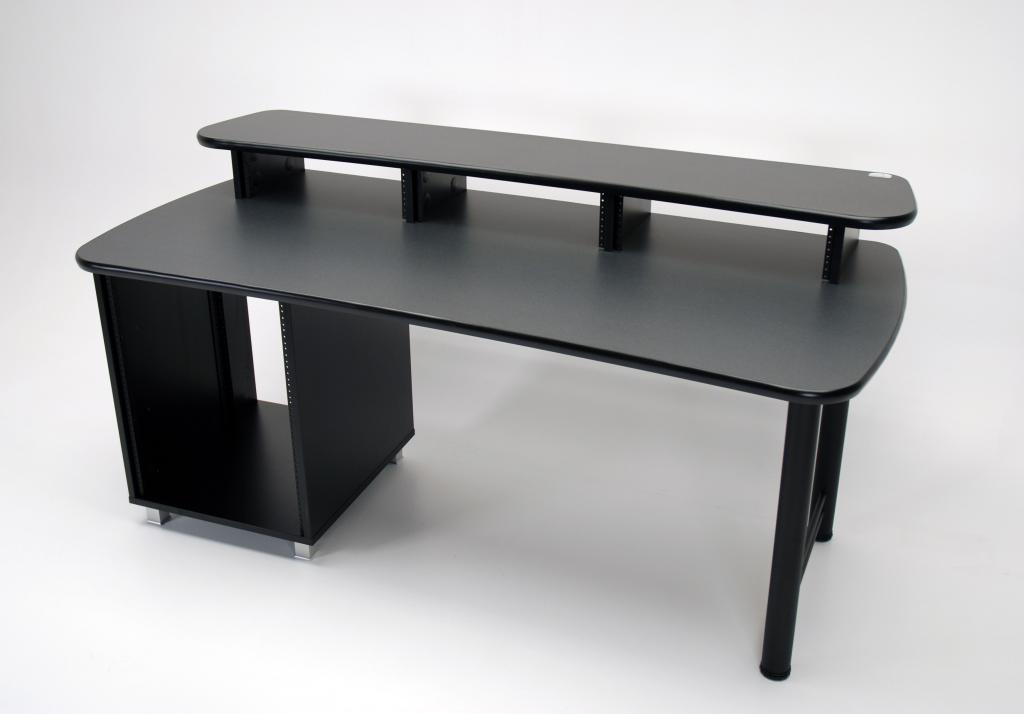 72 Max Rack Desk With Built In Equipment Rack