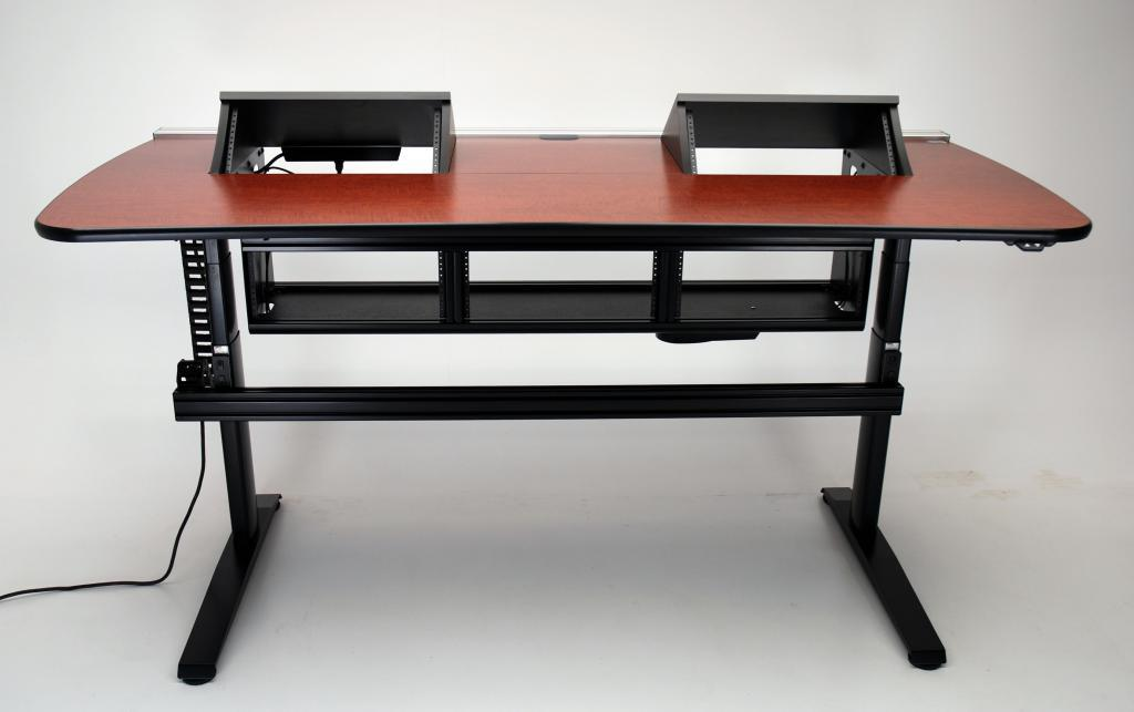 deck screen desk office furniture. Delighful Office Ergo Transform Showing Below Deck Rack Spaces  With Deck Screen Desk Office Furniture F