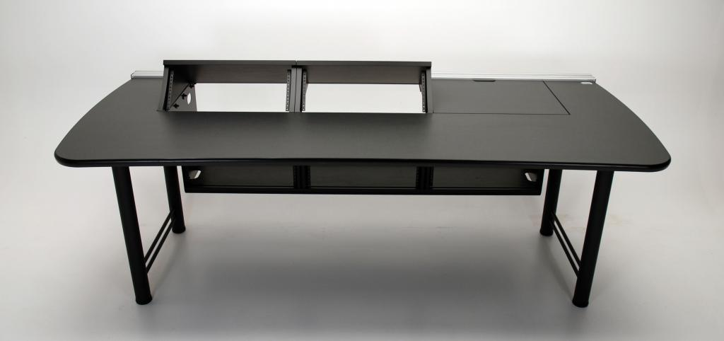 Transform Console Desk With 2 Rackmount Turrets